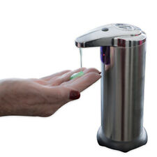 Evelots Touchless Battery Operated Hands Free Automatic Sensor Soap Dispenser