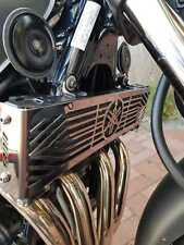 YAMAHA XJR 1300 BLACK MIRROR POLISHED STAINLESS STEEL OIL COOLER RADIATOR COVER