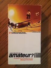 2000 before they turn pro... AMATEUR? Vintage VHS Skateboard Video Rare HTF Lim
