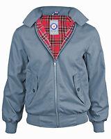 Mens Harrington Jacket Mod Classic Coat Bomber Vintage Scooter Size 3XS - XXXXXL