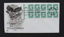 D7208 UNITED STATES 1985 FDC booklet pane of D stamps