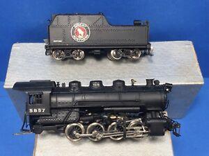 Tenshodo Brass HO Train USRA O-8-0 Engine & Tender Great Northern  Works! L6
