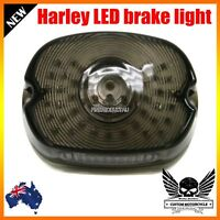 LED motorcycle brake tail plate light Harley sportster softail dyna lay down XL
