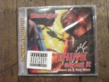 Blackguy Think About It Vol. 1 RARE Midwest US Nebraska Gangsta Rap CD SEALED