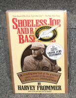 SHOELESS JOE AND RAGTIME BASEBALL SIGNED BY HARVEY FROMMER TAYLOR PUB 1992