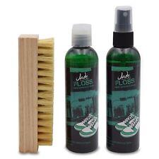 Jade Floss Sneaker Cleaner + Sole Cleaner 4oz + Brush kit