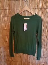 New With Tag Crew Neck Green Sweater Size Large youth