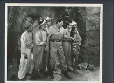 JOHNNY WEISSMULLER AS JUNGLE JIM - 1953 KILLER APE - PHOTO BY VAN PELT