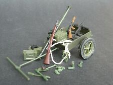 RARE MOC BBI Elite Force 1:18 WWII US Army Paratrooper Weapon Set Utility Cart