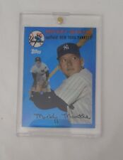 2008 Topps Factory Set Mickey Mantle Blue Refactor Card #MMR54 New York Yankees