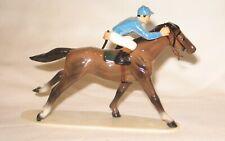 Hagen Renaker specialty piece ceramic figurine race horse thoroughbred TB