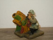 Elastolin Germany - Militair Toy - Soldier with Cannon *37746