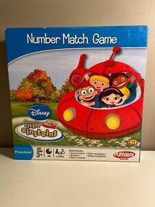 Disney Little Einsteins Number Match Game Playskool Preschool Education Complete