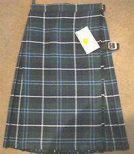 """NEW Girls School Skirt KILT Scottish Kilt Waist 24"""" Length 20"""" Dunairn Fyfe Alan"""