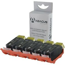 5-PACK Black Ink Cartridges (w/Chip) for Canon PIXMA MP560 MP620 MP630 Printer