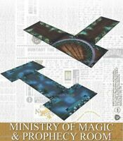 Harry Potter 35mm Miniatures Tabletop Ministry of Magic & Prophecy Room Boards