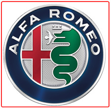 "ALFA ROMEO Backpack / Jacket Badge - 1 1/2"" auto logo medallion emblem pin z7qq"