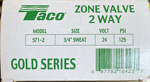 Taco T571-2 Gold Series Zone Valve