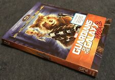 Guardians of the Galaxy Vol. 2 Groot & Rocket Walmart Blu-ray Slipcover Only