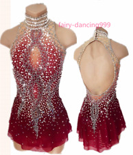 2018 New Style Ice Figure skating dress Ice skating dress for competition 502