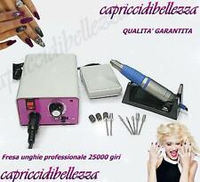 Fresa unghie professionale manicure pedicure 25000 giri - Nail Art