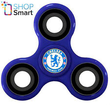 CHELSEA FC FIDGET SPINNER DIZTRACTO SPINNERZ FOOTBALL SOCCER CLUB TEAM BLUE NEW