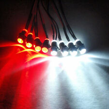 LED Lights for your RC Heli or Airplane 4 red 4 white