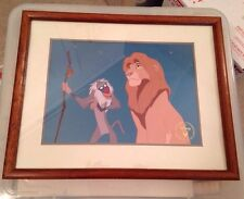Disney's Lion King Exclusive Commemorative Lithograph Framed