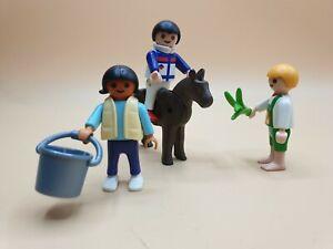 Playmobil - 3 Kinder und Pony / Reiterhof / Bauernhof / Ponyreiten