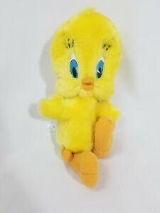 Vintage Applause Looney Toons Tweety Bird Warner Bros Plush Stuffed Toy