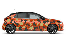 2 side CAR CAMO KIT  STICKERS CAMOUFLAGE ANY 2 COLOURS  VINYL WRAP DECALS JDM