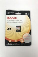 KODAK 16GB SDHC Flash Memory Card Class 4 High Speed 9MB/sec