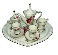 Porcelain Tea Set - 10 Piece