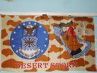 FLAG - NEW - DESERT STORM - AIR FORCE - 3 x 5Original Period Items - 10953