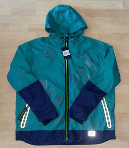 Nike Running Jacket Windbreaker 3M Reflective Shield Green BV5615-340 Sz XXL NWT