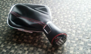 Schalthebel Schaltknauf Schaltung Leder VW Polo 6C 6R GTI Bj. 15 6C0711113N #15