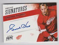 2012-13 Panini Prime Signatures Gordie Howe 10/10 auto