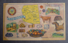 1940's Liberty Baking State card Arizona