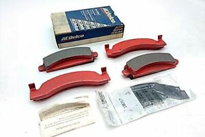 ACDELCO Front Metalic Disc Brake Pad Set 17D149M