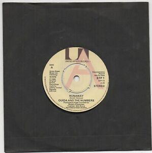 Ouida & The Numbers – Runaway UA  Records UK 1980 Vinyl Promo STRANGLERS