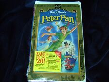 NEW & SEALED Disney's PETER PAN  45th LIMITED EDITION Fully Restored