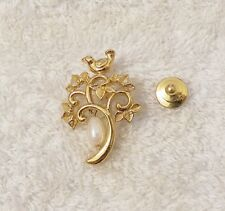 CLASSIC CHRISTMAS PIN BROOCH PARTRIDGE IN A PEAR TREE TWELVE DAYS OF COSTU VL-T1