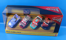 Disney Cars FGR88 Race To Win 4-Pack  Geschenk-Set