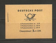 Germany DDR SC # 330c-333a-477b Booklet panes on a booklet. MNH