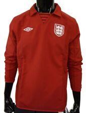 2012-2013 UMBRO ENGLAND Away Red Jacket zipper pocket SIZE S (adults)