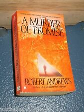 A Murder of Promise by Robert Andrews FREE SHIPPING 0425189422