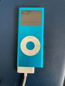 Apple iPod Nano 2nd Gen. 4GB Blue A1199 MP3 Player! - Working - Need NEW BATTERY