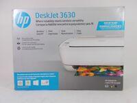 *Brand New in  Box* HP DeskJet 3630 All-In-One Inkjet Printer