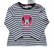 Disney Striped T-Shirts & Tops (0-24 Months) for Girls