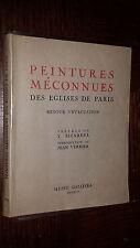 PEINTURES MECONNUES DES EGLISES DE PARIS - Retour d'évacuation - 1946